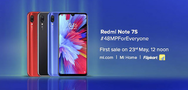 Redmi Note 7s Price,features