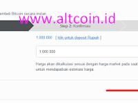 Cara Membeli Bitcoin Di Market Exchange Lokal