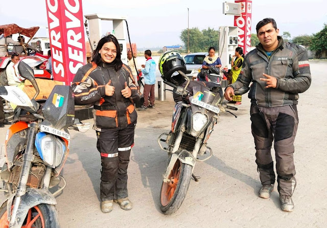 Record Brake Fastest All India Ride By  Sameera Dahiya And Praveen Ramakrishnan
