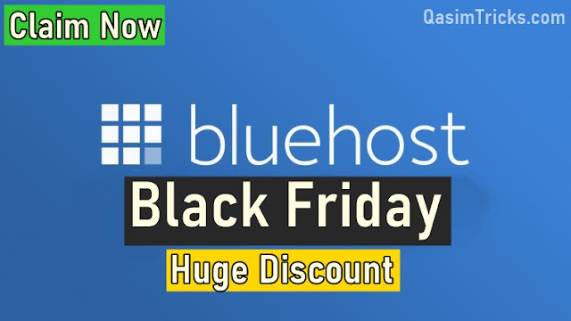 Bluehost Black Friday & Cyber Monday Sale 2020: Big 66% OFF $2.65/Mo - Qasimtricks.com