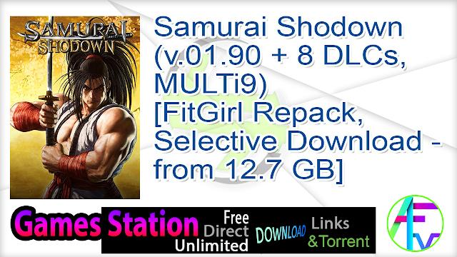 Samurai Shodown (v.01.90 + 8 DLCs, MULTi9) [FitGirl Repack, Selective Download – from 12.7 GB]