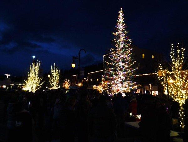 Katie Talks Tahoe: Downtown Truckee Tree Lighting