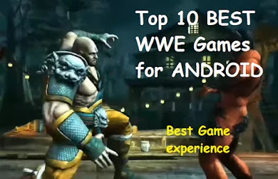 Top 10 BEST WWE Games for ANDROID 2020 | High Graphics | Download | FREE |