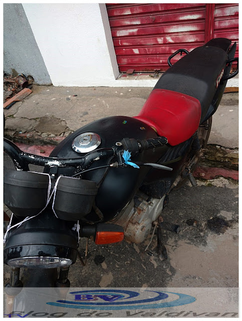 Moto roubada em Vargem Grande-MA é recuperada pelos Agentes de Transito em Blitz Educativa em Chapadinha