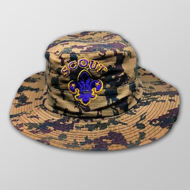 Topi rimba pramuka logo scout