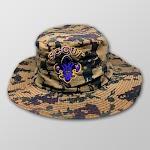 Topi Rimba Loreng Logo Scout