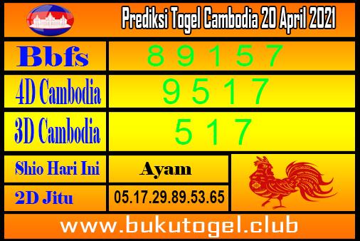 Prediksi Kamboja 20 April 2021