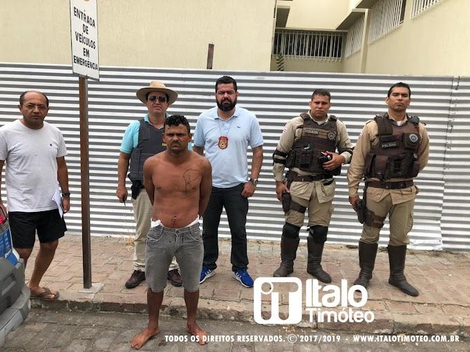 Procurado pela polícia alagoana, 'Chiquinho' é preso em Paulo Afonso-BA