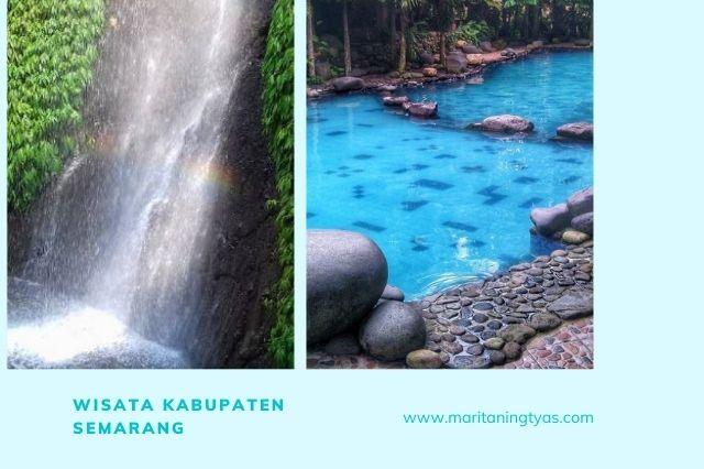 air terjun semirang dan watu gunung di kabupaten semarang