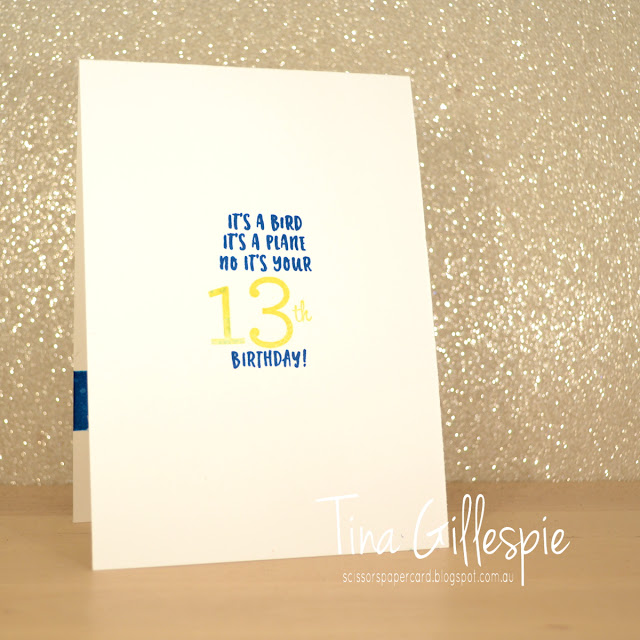 scissorspapercard, Stampin' Up!, Kindred Stamps, You're Super, Family Party