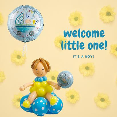 Baby Boy Design by Sue Bowler