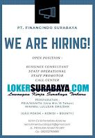 We Are Hiring at PT. Financindo Surabaya Nopember 2019