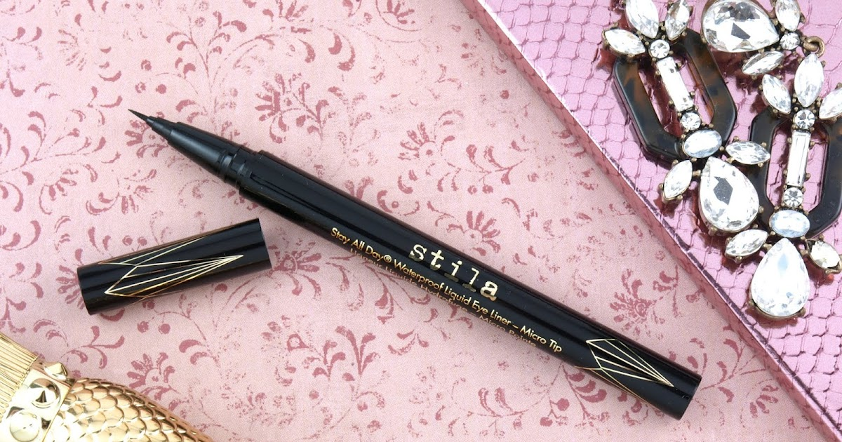 Stila | Stay All Day Waterproof Liquid Eye Liner - Micro Tip: Review and  Swatches | The Happy Sloths: Beauty, Makeup, and Skincare Blog with Reviews  and Swatches