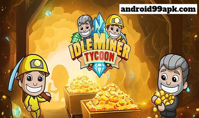 لعبة زعيم المناجم العاطل Idle Miner Tycoon v2.71.0 مهكرة بحجم 121 MB للأندرويد