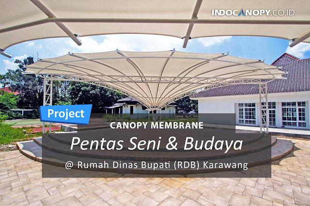 canopy membrane stage panggung