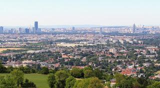 Blick vom Bisamberg nach Wien