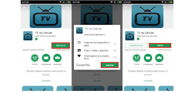 TV no Celular Aplicativo para assistir TV online no Grátis  - I LOVE