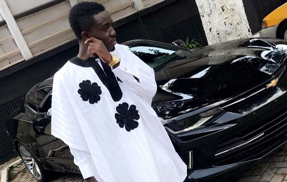 Criss Waddle is The Richest Ghanaian Musician, This Estate Building Proves It. (Picture below) 