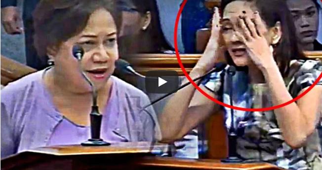 PANOORIN: Hontiveros Halos Mawala Sa Sarili Nang Tinawag Na Fake News Ni Villar