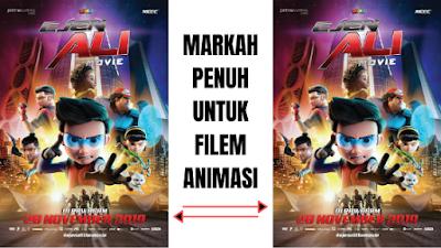 Markah Penuh Untuk Filem Animasi Ejen Ali The Movie 2019
