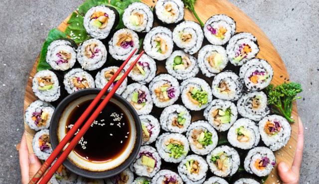 sushi atau sashimi