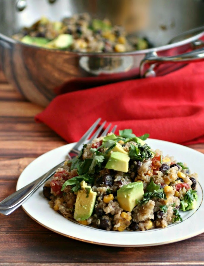 One Pot Mexican Style Quinoa