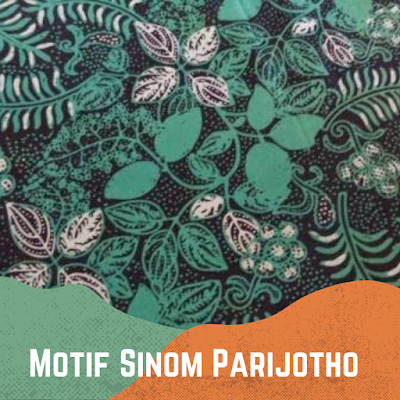 Motif Batik Sinom Parijotho