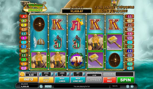 Main Gratis Slot Indonesia - Viking's Plunder Habanero