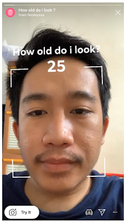 How old do i look instagram, Begini cara dapatkan filter How old do i look instagram