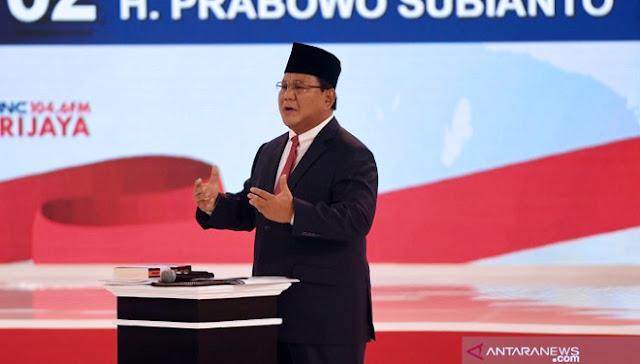 Prabowo: Saya Hargai Pak Jokowi, tapi Saya Tawarkan Strategi Lebih Cepat untuk Kemakmuran Rakyat