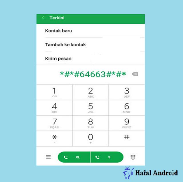 Tes Touchscreen Xiaomi dengan Kode Rahasia