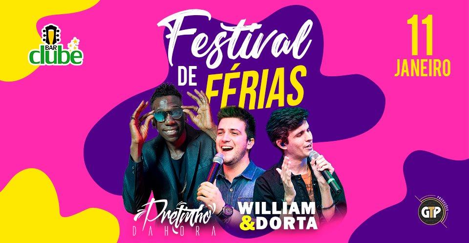 Festival de Férias: funk e sertanejo prometem agitar o final de semana em Pinhal