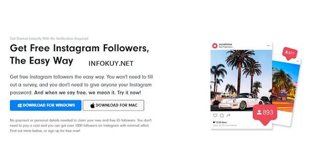 socialfollow - situs auto followers instagram