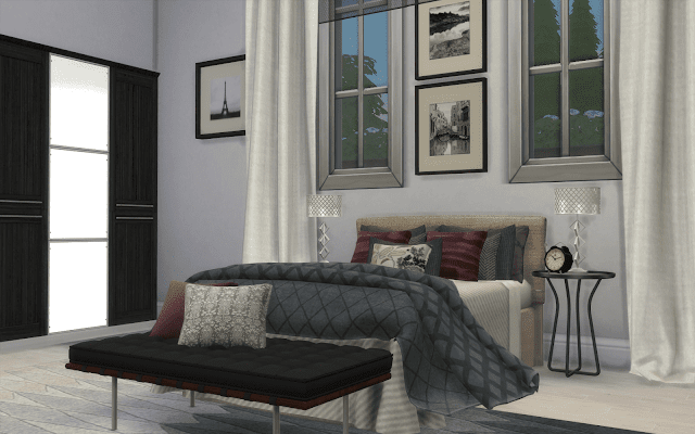bedroom design sims 4
