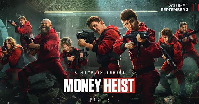 Money Heist Season 5 Voume 1, Money Heist Season 5 Voume 2, Money Heist Season 5