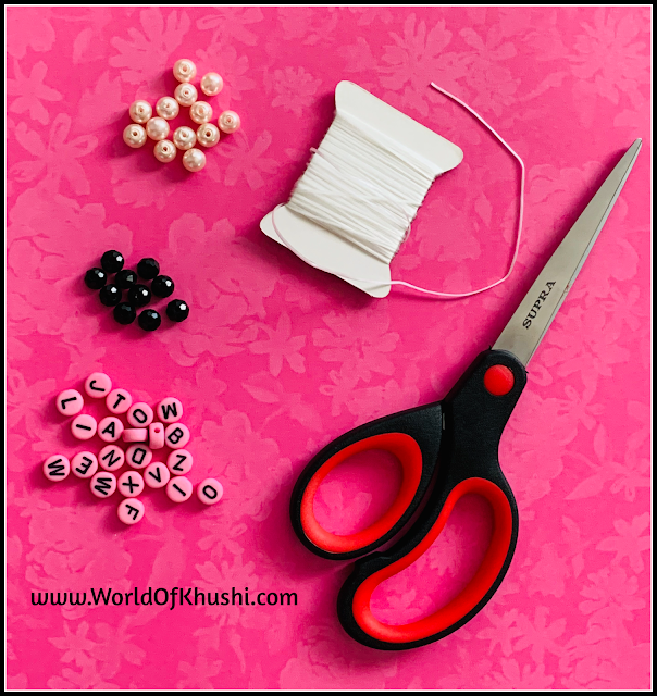 World Of Khushi | DIY Rakhi Image3
