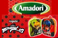 Logo Amadori Back to school ti regala lo Zaino scuola Miraculous