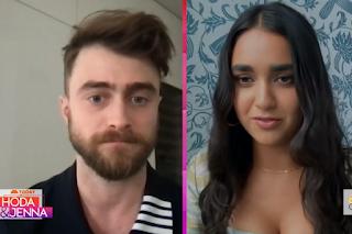 Daniel Radcliffe and Geraldine Viswanathan on The Today Show: Hoda & Jenna
