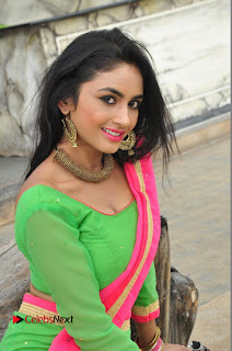 Actress Pooja Sri Pictures at Dandiya Navrang Utsav 2016 Curtain Raiser Event  0205