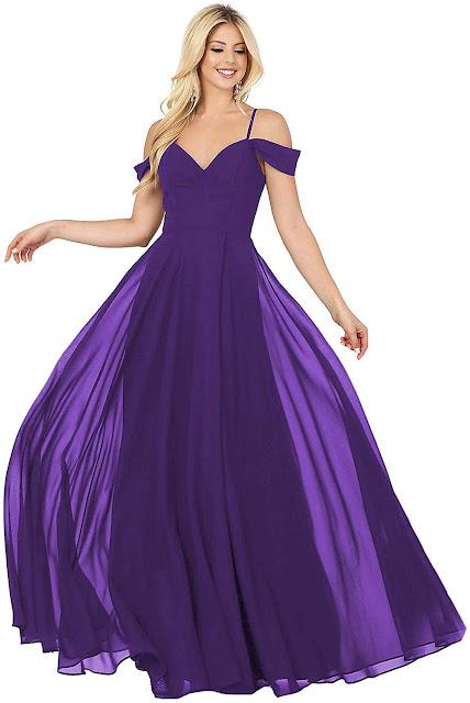 Floor Length Chiffon Bridesmaid Dresses