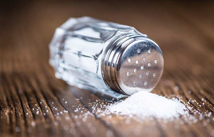 Salz sparen