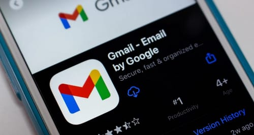 What data is Gmail collecting on iPhone and how can I prevent it from being collected?