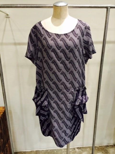 mintdesings[ミントデザインズ]GINGHAM-LOGO DRESS