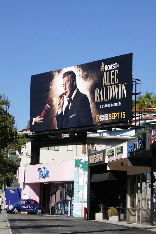 Roast Alec Baldwin 2019 billboard