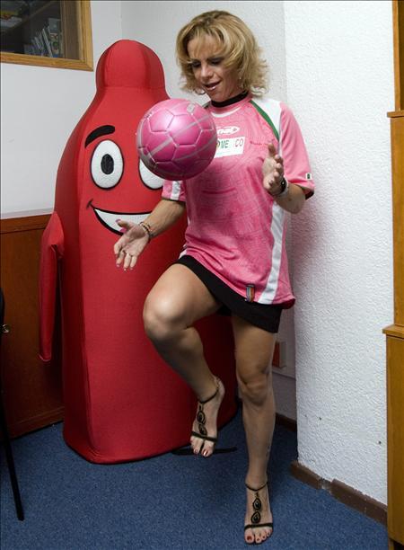MIRANDA SALMAN S EDGE  The Man Who Transgender Into A Female Football Star 1dc5bebd951c5