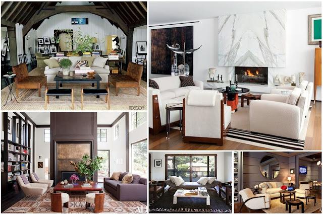 Modern Living Rooms Designed By Waldo Fernandez