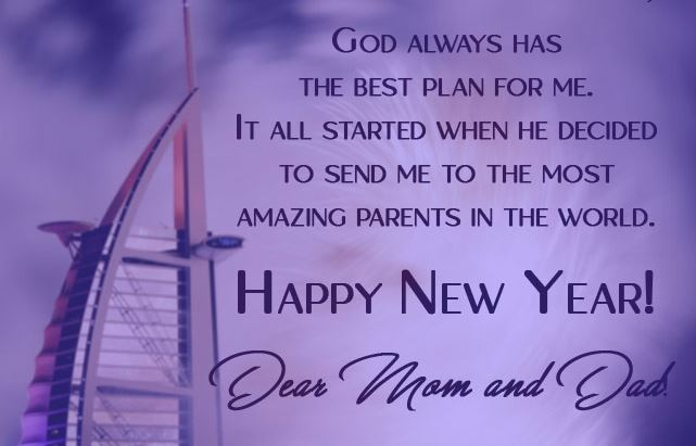 New Year 2020 Wishes Messages for Mom-Dad & Parents