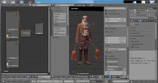 Screenshot 4 :  Blender