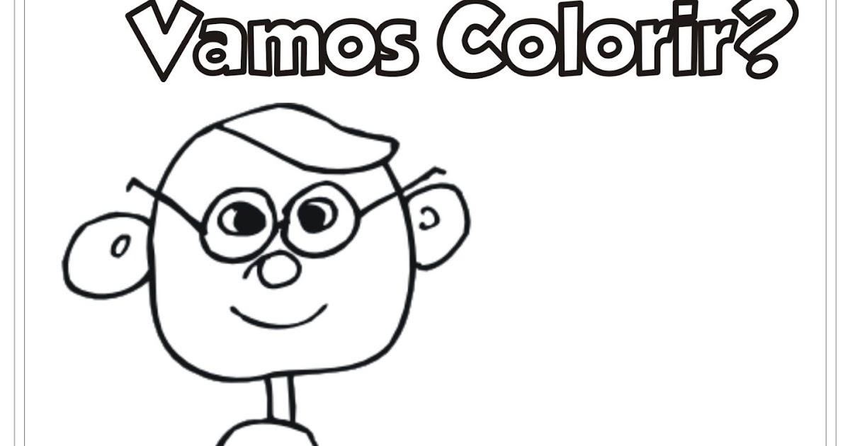 Desenho Pai E Filha Para Colorir