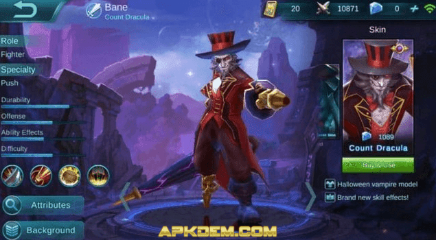 Skin Hero Mobile Legends